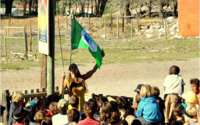 Raising the eco-flag, March 2012