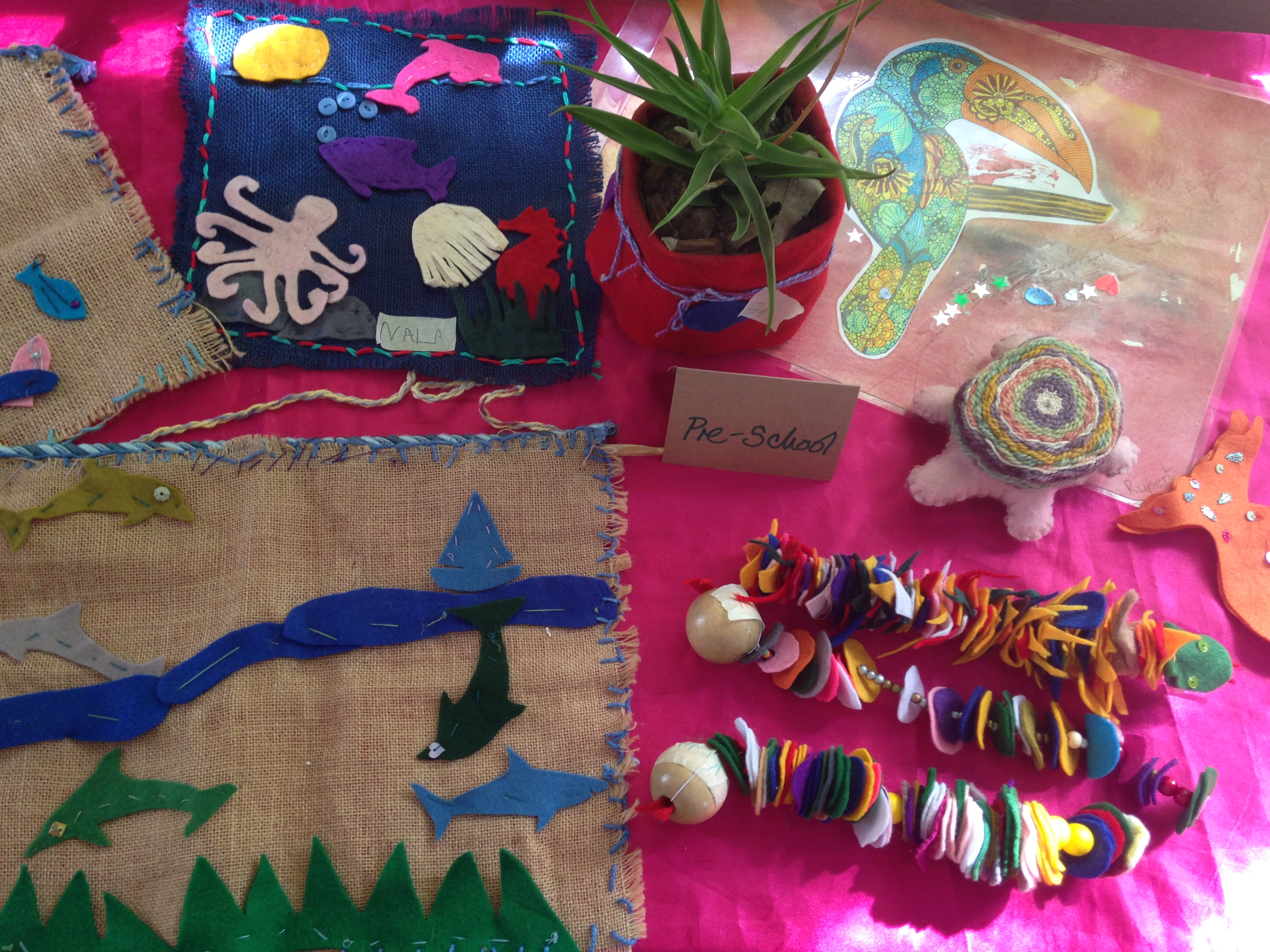 The Crafting Circle Is In Full Swing Imhoff Waldorf School